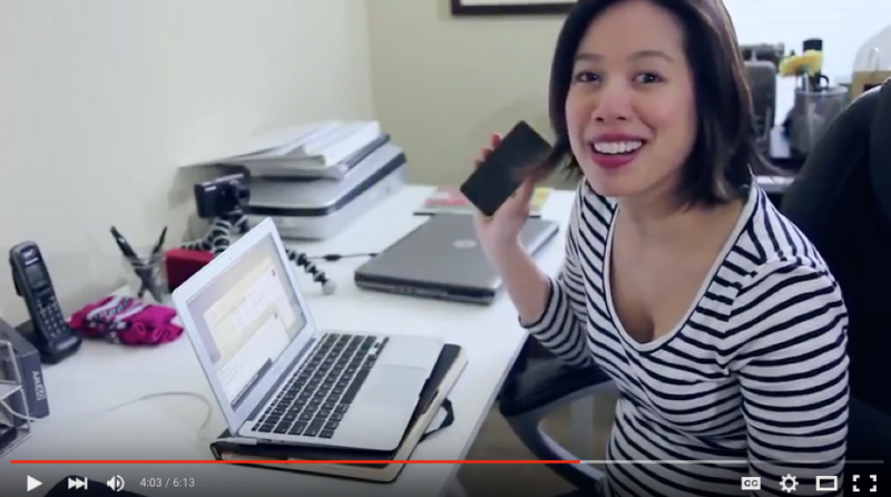Video - Accessibility at Work: Christine Ha on how people who are blind email, tweet, and blog (excerpt)