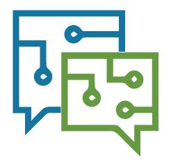 Digital Communication Icon