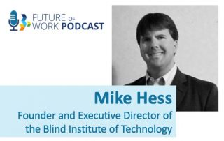 Photo of Mike Hess, Founder/Executive Director of Blind Institute of Technology