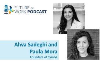 Ahva Sadeghi and Paula Mora Founders of Symba
