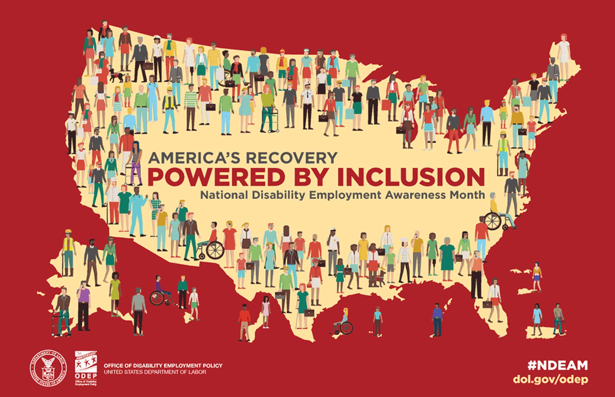 America's Recovery Powered by Inclusion - National Disability Employment Awareness Month