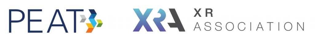 PEAT logo XRA & XR Association logo